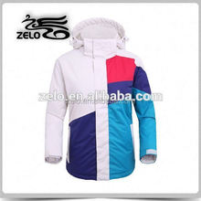 2015 fashion snow ski jacket garment factory