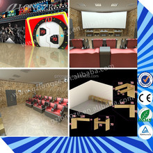 Crazy And Interesting Hydraulic/Electric 5D Theater 4d cinema equipment Hot Sale