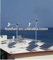 Residencial 5kw turbina eólica/gerador de energia eólica/vento solar sistema híbrido/dc 96v-ac 220v