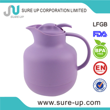 advertising double glass liner plastic thermo flask suitable for hotel and home using (JGBX)