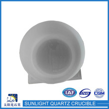 lianyungang fused silicon ceramic crucible for melting metal