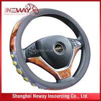 Non--Slip Car Steering Wheel Protective Cover