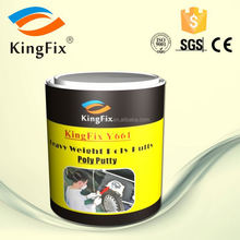 Two component KINGFIX body filler for auto with cream Hardener