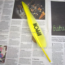 High quality nice feather pen with logo imprint for advertising
