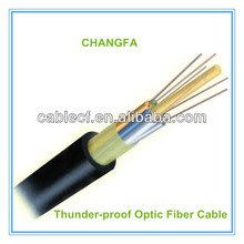 China Manufacturer Outdoor24core Optical Fiber Cable GYFTY Fibre Optic Cable Thunderproof 24core Single Mode Fiber Optical Cable