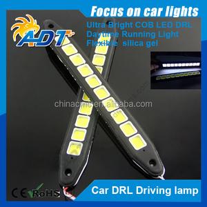 neues produkt flexible silicagel weiß dc12v 15w 6000k kieselgel cob drl licht