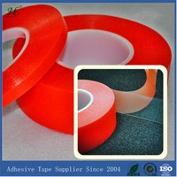 10mm X 50M Clear Strong Polyester Adhesive Tape Double Side For Phone