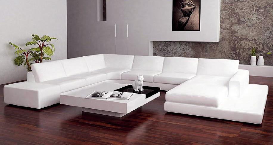 big u shaped living room leather sofajpg