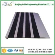 Non Slip aluminium tile edging stair nosing