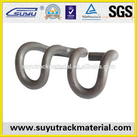 Elastic metro track skl tension clamp