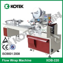 Horizontal Flow Candy Packing Equipment Pillow Pack Wrapper Automatic Ball Lollipop Packaging Machine