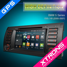 """Xtrons PF7239BA-7"""" android 4.4.4 car mp4 player for BMW 5 Series X5/E53 with GPS Wifi 3G CANbus OBD2"""