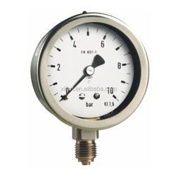 50/63 Ch,D9 corrosion-resistant type /Stainless Steel pressure gauge,Double bourdon tubes differential pressure gauge