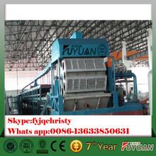 henan zhengzhou low price small egg tray making machine, paper pulp egg tray making machine with high return