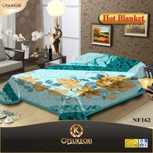 Korean style smooth bright high class New product of blanket and bedset