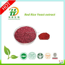 High Quality/Factory Supply Natural Red Rice Yeast Extract Powder 0.5%-3% Lovastatin CAS:75330-75-5