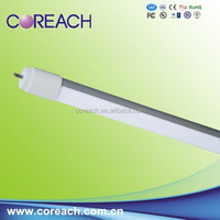 Cheapest LED tube light T8 Al+PC 2700-6500k pure white 60cm 100lm/W high brightness with CE ROHS certification