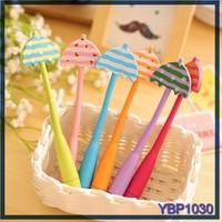 cute umbrella ballpoint pen springs roller ball pen wholesale stationery china
