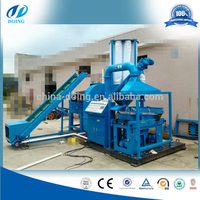 2015 Hottest Dry process compact cable wire Recycling machine/copper granulator