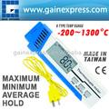 Pen tipo K tipo Bead fio termopar termômetro medidor Made in Taiwan