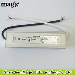 IP67 Waterproof DC12V DC24V 80W LED power supply