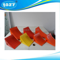 Polyurethane Wedge for Parking Trailers