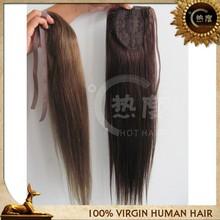 Yaki human hair ponytail wrap around human hair ponytail