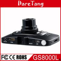 Factory direct Newest design 2.7 inch LCD Full HD 1080P GS8000L auto camera recording