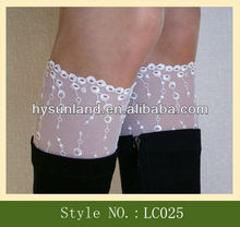 New Trend product Lace Boot Cuff socks