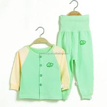 Wholesale Baby Kid Children 100% Cotton Infant Underwear Sets Sleeping Suit