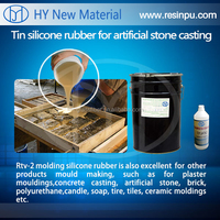 Tin cure liquid silicone rubber to make all kinds of mold