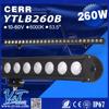 Y&T YTLB260B Made in China High power SUV Offroad Car Cheap Warning LED light Bar