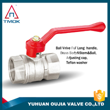 brass ball valve with compression blasting hydraulic motorize xw617n three way plating male threaded connection