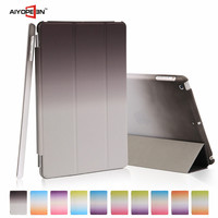 10 Colors Ultra Slim Stand Rainbow Leather Case Smart Flip Cover for iPad mini 1/2/3 for Apple With Auto sleep/Wake Function