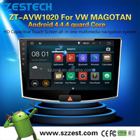 """for VW MAGOTAN Android 4.4.4 car dvd 10"""" android tablet double din car dvd player"""