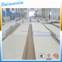 Hairline stainless steel sheet finish 310 with PVC coating
