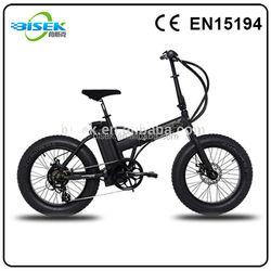 20inch folding fat tire four wheel motorcycle