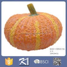 China supplier ceramic artificial pumpkin and scarecrow for sale