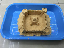 Educational DIY Space sand for children