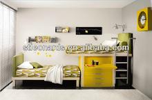 Dormitorio infantil, en movimiento en el pecho de la <span class=keywords><strong>cama</strong></span>, <span class=keywords><strong>mdf</strong></span> escritorio omputer