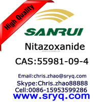 API-Nitazoxanide, High purity cas 55981-09-4 Nitazoxanide