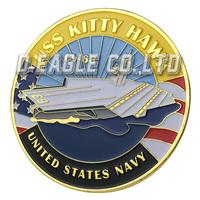 The HOT Selling USS Kitty Hawk / CV-63 1127 Souvenir / Custom Challenge Coin/ Custom Coin