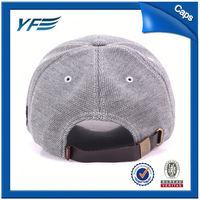 Hot Sale High Quality Woven Cotton Baseball Caps/Baseball Hats