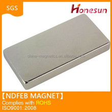 strong ndfeb magnet block shape made in China 2015