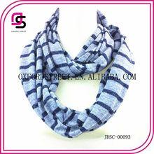 Bufanda azul estilo infinito 2014
