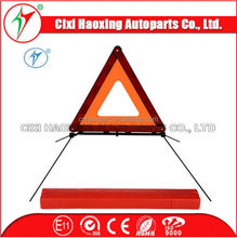 traffic signs warning triangle emergency case safety tools