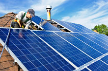 High quality easy install complete residential 15kw solar panel kit