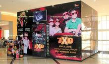 XD,4D, 5D, 6D, 7D, 8D, 9D, 10D,11D, and 12D Cinema or Simulator or Theatre
