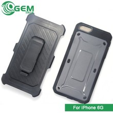 3 in 1 phone case Hybrid Cover Holster for iPhone 6 4.7