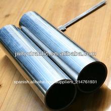tubo de acero cromado